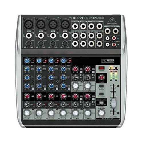 Behringer 12 Mixer-Powered