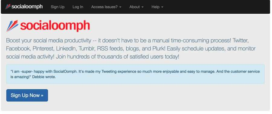 socialoomph_website