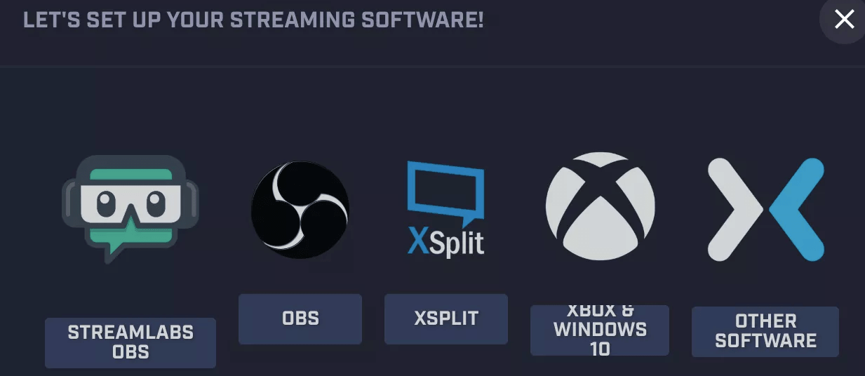 streaming software