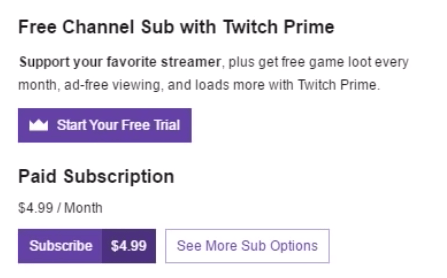 free trial_twitch prime