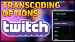 transcoding options