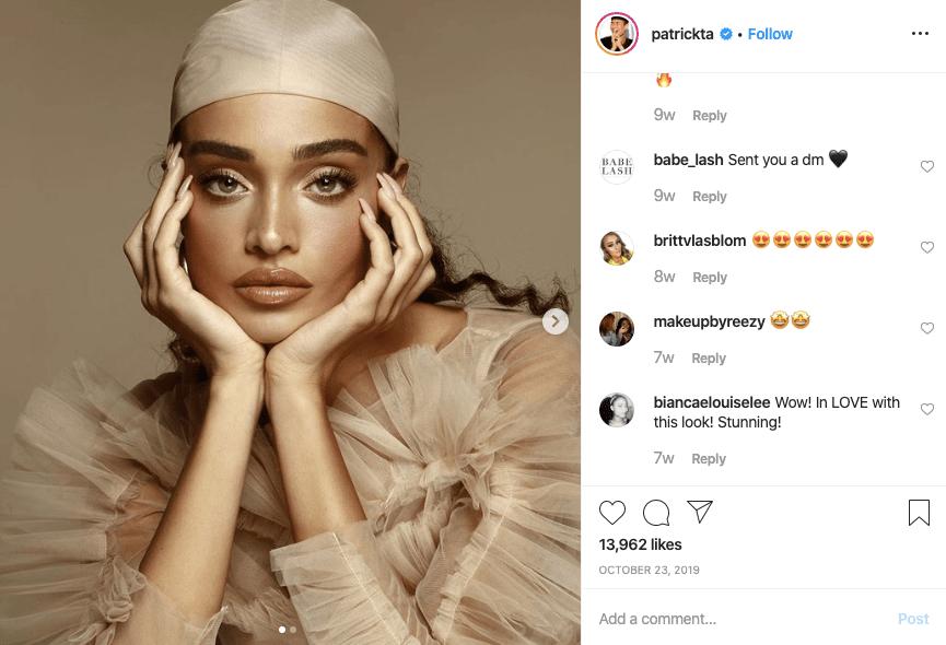 patrickta makeup artist