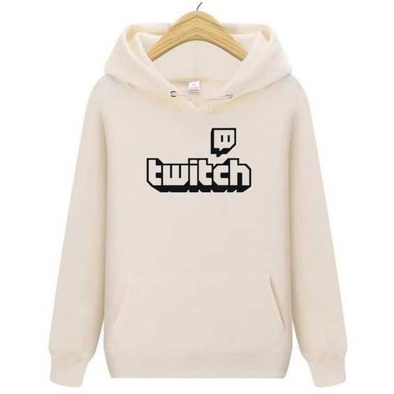 Twitch branded hoodie