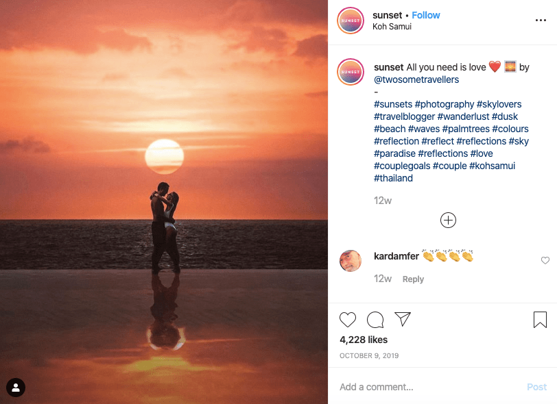 couple sunset quotes