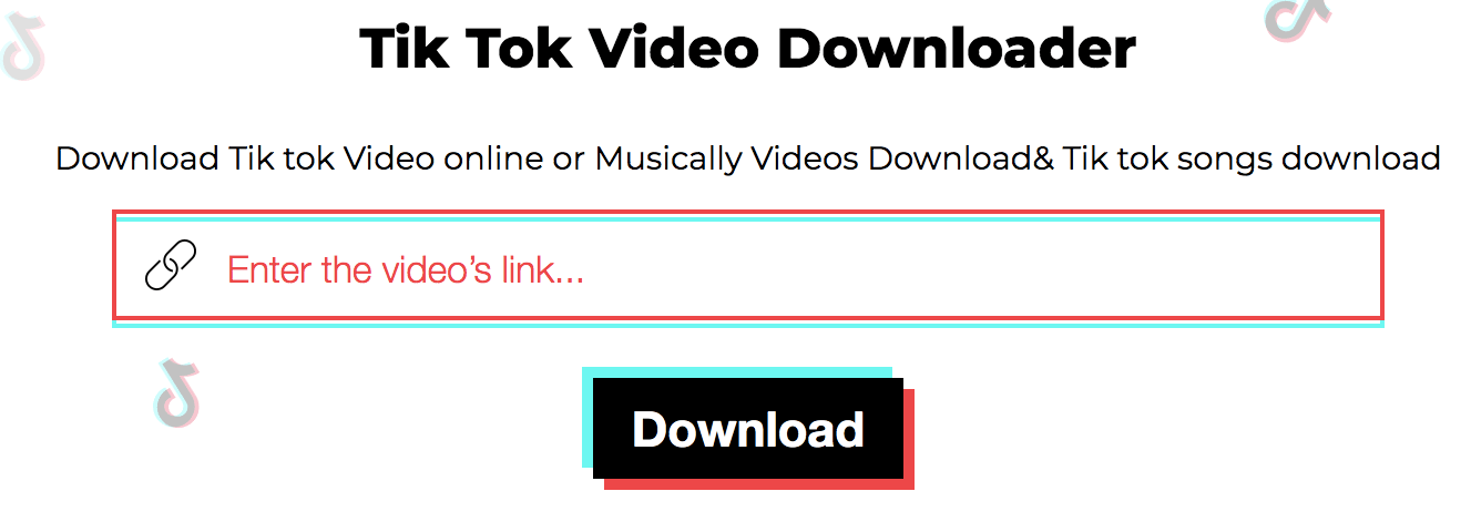 Tik Tok video downloader