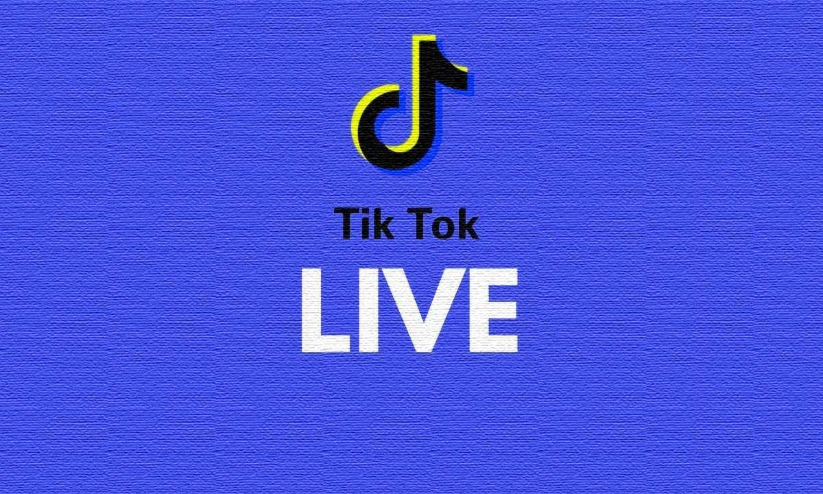 How do you go live on TikTok